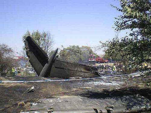 Accidente T4 Barajas (primeras imagenes)  © Flickr /Ricardo Ricote