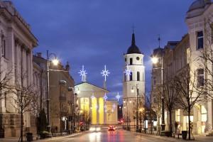 Vilnius Kathedrale Belfry