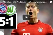 Die Lewandowski-Gala: 5 Tore in 9 Minuten