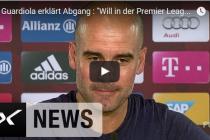 Ab auf die Insel: Pep Guardiola wechselt zu Manchester City